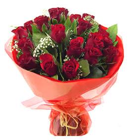Ankara anneler günü çiçek yolla  11 adet kimizi gülün ihtisami buket modeli