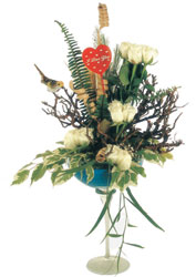 Ankara çiçek gönderme sitemiz güvenlidir  kadeh içerisinde görsel gül tanzimi