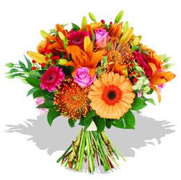 Ankara çiçekçi telefonları  Karisik kir çiçeklerinden görsel demet
