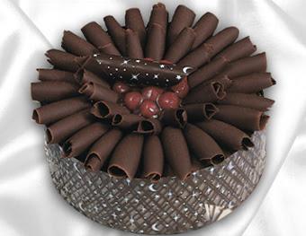 online pasta satisi 4 ile 6 kisilik çikolatali meyvali yaspasta  Ankara cicekciler , cicek siparisi