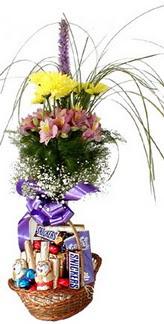 Ankara hediye sevgilime hediye çiçek  Mevsim çiçekleri ve çikolata
