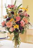 Ankara çiçek satışı  Mevsim çiçekleri mika yada cam vazo tanzim