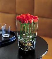Ankara ucuz çiçek gönder  kare mika yada cam vazo renkligül tanzim