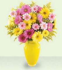 Ankara cicekciler , cicek siparisi  cam yada mika vazoda kir çiçekleri özel