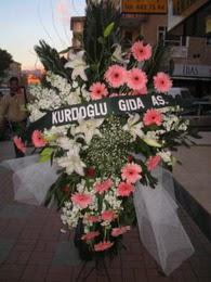 kazablanka,gerbera,sebboy ferforje  Ankara çiçekçi mağazası