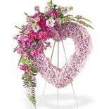 kalp içerisinde mevsim çiçekleri   Ankara çiçek siparişi vermek