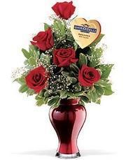 5 adet gül ve cam yada mika vazo özel  Ankara çiçekçi telefonları