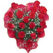 herseyi ile kirmizi buket   Ankara çiçek online çiçek siparişi