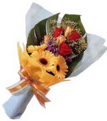 güller ve gerbera çiçekleri   Ankara çiçek gönderme sitemiz güvenlidir