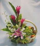 mevsim meyvalari ve sepet   Ankara çiçek yolla