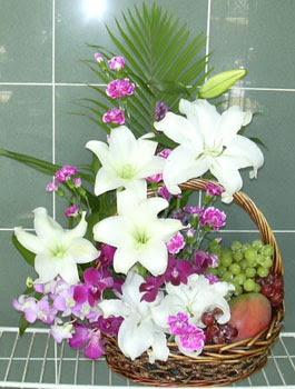 Ankara internetten çiçek satışı  KAZABLANKA KARANFIL VE KIR ÇIÇEKLERI MEVSIM MEYVA