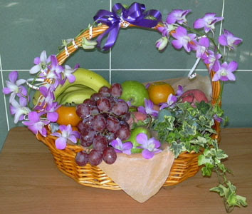 Ankara internetten çiçek satışı  SEPET IÇERISINDE MEVSIM MEYVALARI