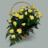 12 adet sari gül sicak sevgiye inananlara  Ankara çiçek mağazası , çiçekçi adresleri