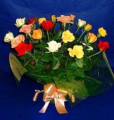 Ankara İnternetten çiçek siparişi  13 adet karisik renkli güller