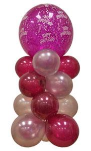 Sevdiklerinize 17 adet uçan balon demeti yollayin   Ankara çiçekçi telefonları