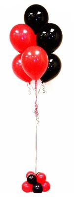 Sevdiklerinize 17 adet uçan balon demeti yollayin.   Ankara İnternetten çiçek siparişi