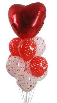 Sevdiklerinize 17 adet uçan balon demeti yollayin.   Ankara çiçek siparişi sitesi