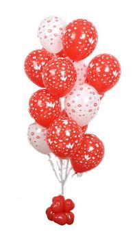 Sevdiklerinize 17 adet uçan balon demeti yollayin.  Ankara internetten çiçek satışı