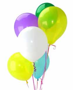 Ankara hediye çiçek yolla  Sevdiklerinize 17 adet uçan balon demeti yollayin.