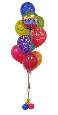 Ankara çiçek gönderme sitemiz güvenlidir  Sevdiklerinize 17 adet uçan balon demeti yollayin.