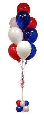 Ankara İnternetten çiçek siparişi  Sevdiklerinize 17 adet uçan balon demeti yollayin.