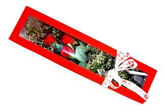 Ankara İnternetten çiçek siparişi  Kutuda 3 adet gül