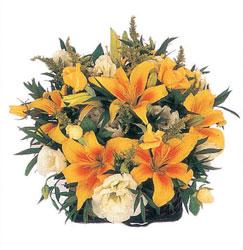 Ankara çiçek gönderme sitemiz güvenlidir  Karisik mevsim sepeti