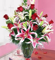 Ankara hediye çiçek yolla  harika vazo tanzimi gül - kazab
