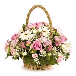 Ankara online çiçek gönderme sipariş  Gül ve gerberalardan çiçek aranjmani