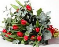 Ankara çiçek satışı  11 adet kirmizi gül buketi özel günler için
