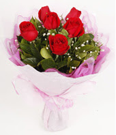 9 adet kaliteli görsel kirmizi gül  Ankara çiçek gönderme