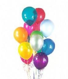 Ankara çiçek satışı  19 adet karisik renkte balonlar