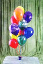 Ankara cicek , cicekci  19 adet uçan balon demeti balonlar