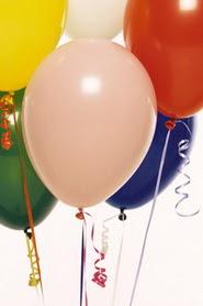 Ankara İnternetten çiçek siparişi  19 adet renklis latex uçan balon buketi