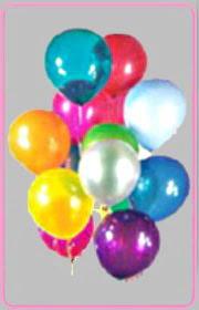 Ankara online çiçek gönderme sipariş  15 adet karisik renkte balonlar uçan balon