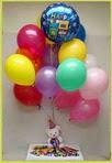 Ankara anneler günü çiçek yolla  25 adet uçan balon ve 1 kutu çikolata hediye