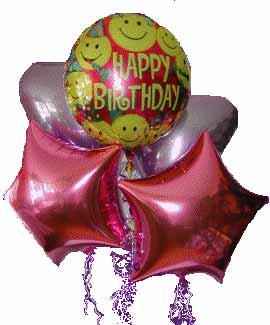 Ankara kaliteli taze ve ucuz çiçekler  11 adet renkli uçan balon hediye ürünü