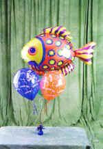 Ankara online çiçek gönderme sipariş  9 adet uçan balon renkli oyuncak balonlar