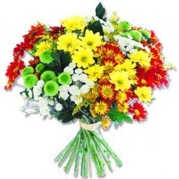 Kir çiçeklerinden buket modeli  Ankara online çiçek gönderme sipariş
