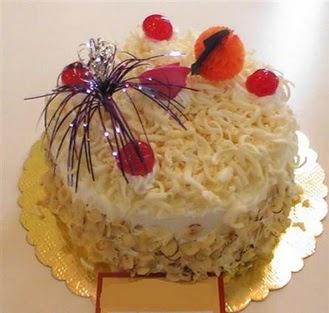 pasta siparisi 4 ile 6 kisilik yaspasta mis lezzette  Ankara çiçekçi telefonları
