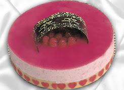 pasta siparisi 4 ile 6 kisilik yas pasta framboaz yaspasta  Ankara güvenli kaliteli hızlı çiçek