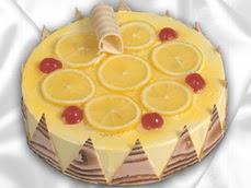 taze pastaci 4 ile 6 kisilik yas pasta limonlu yaspasta  Ankara online çiçek gönderme sipariş