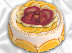 leziz pastane 4 ile 6 kisilik yas pasta meyvali yaspasta  Ankara kaliteli taze ve ucuz çiçekler