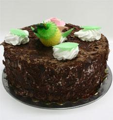 4 ile 6 kisilik yas pasta çikolatali leziz pastane ürünü  Ankara cicekciler , cicek siparisi