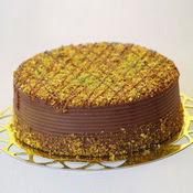 sanatsal pastaci 4 ile 6 kisilik krokan çikolatali yas pasta  Ankara cicek , cicekci