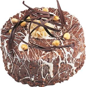 pasta satisi 4 ile 6 kisilik çikolatali yas pasta  Ankara hediye çiçek yolla
