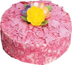 pasta siparisi 4 ile 6 kisilik framboazli yas pasta  Ankara çiçek yolla