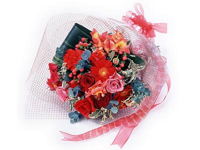 Karisik buket çiçek modeli sevilenlere  Ankara uluslararası çiçek gönderme