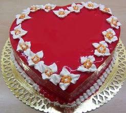 kalp biçiminde yas pasta özel kisilere  Ankara cicekciler , cicek siparisi