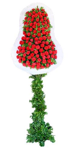 Dügün nikah açilis çiçekleri sepet modeli  Ankara hediye çiçek yolla